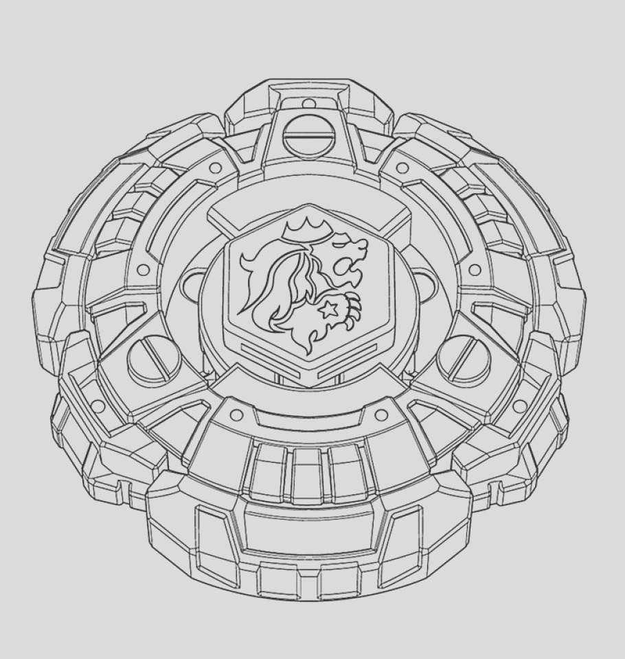 free beyblade coloring pages