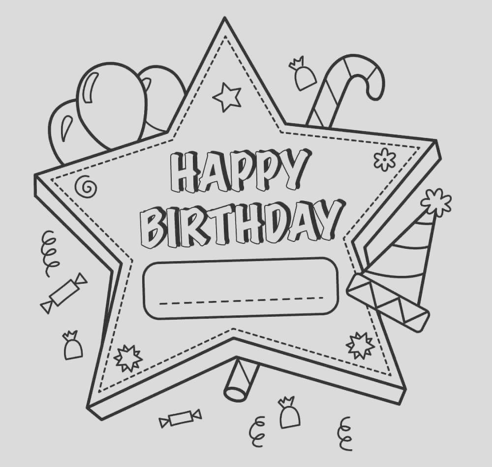 birthday coloring pages for adults