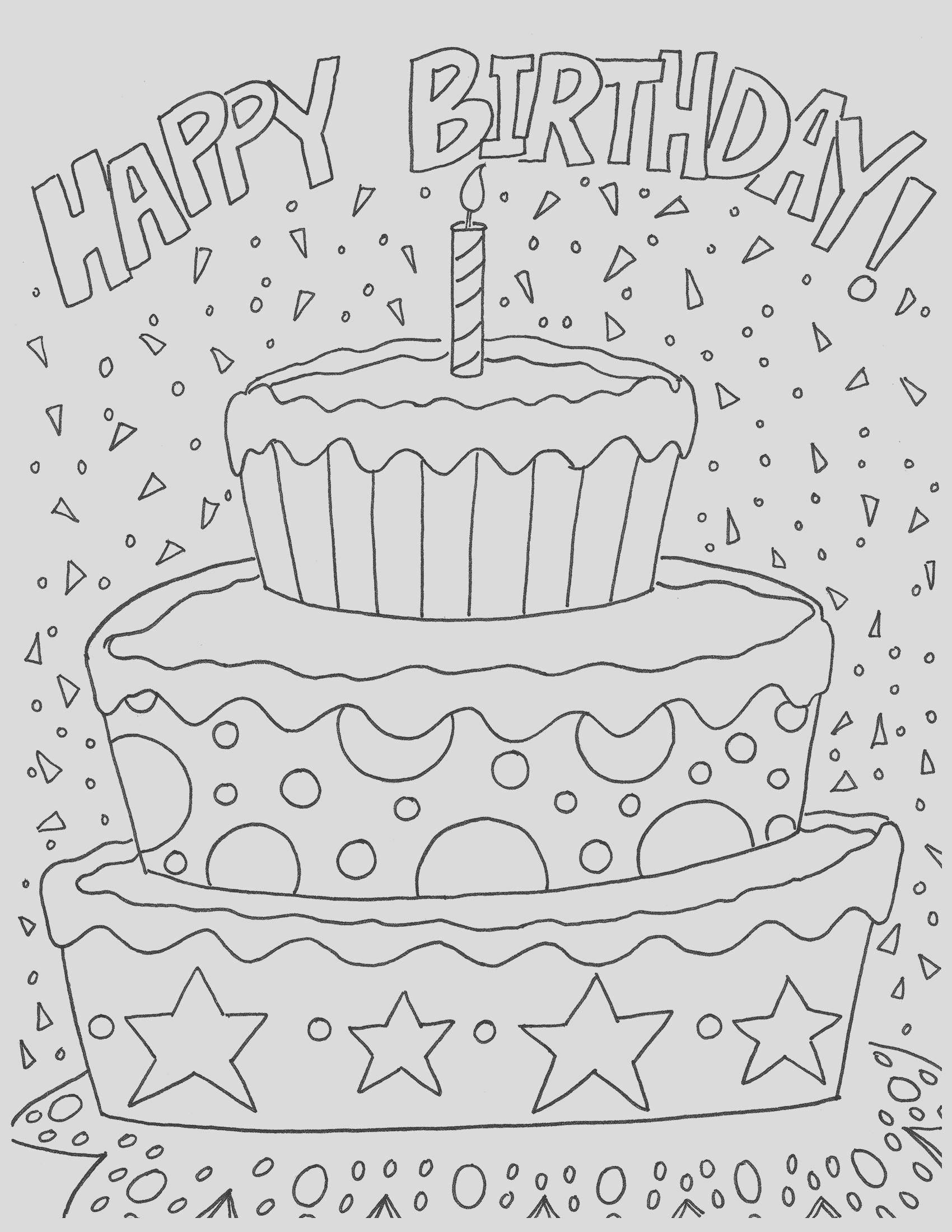 happy 16th birthday coloring pages