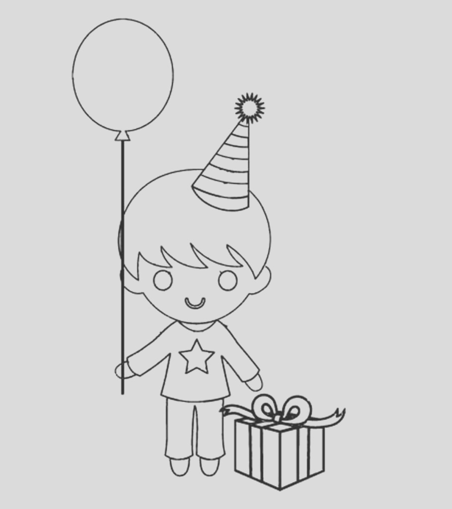 amazing happy birthday coloring pages your toddler will love