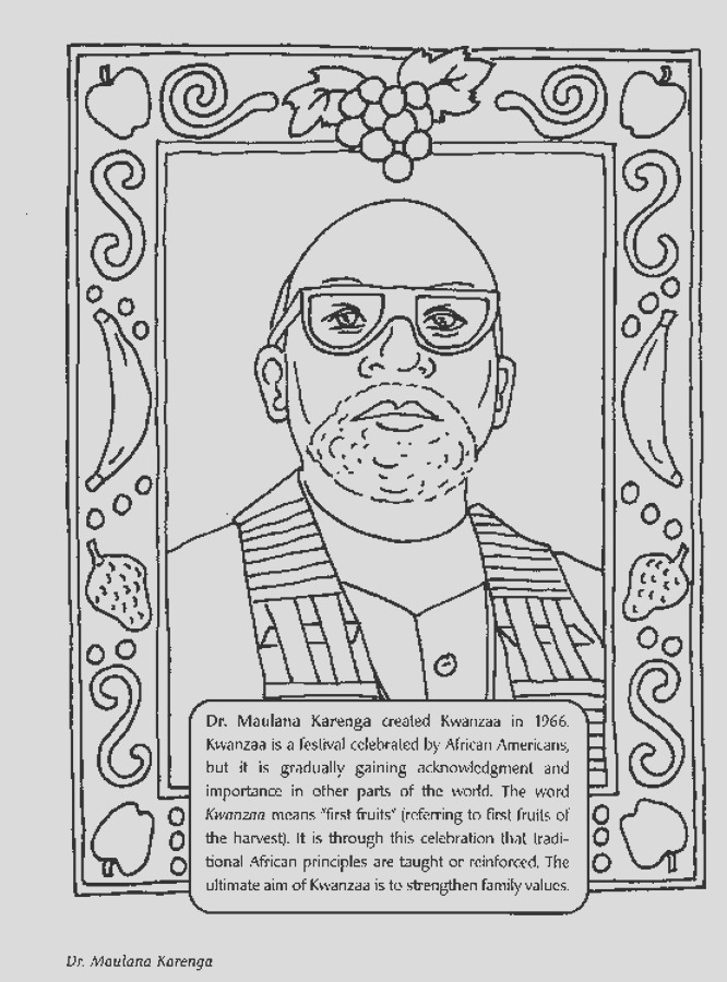 black history month coloring pages