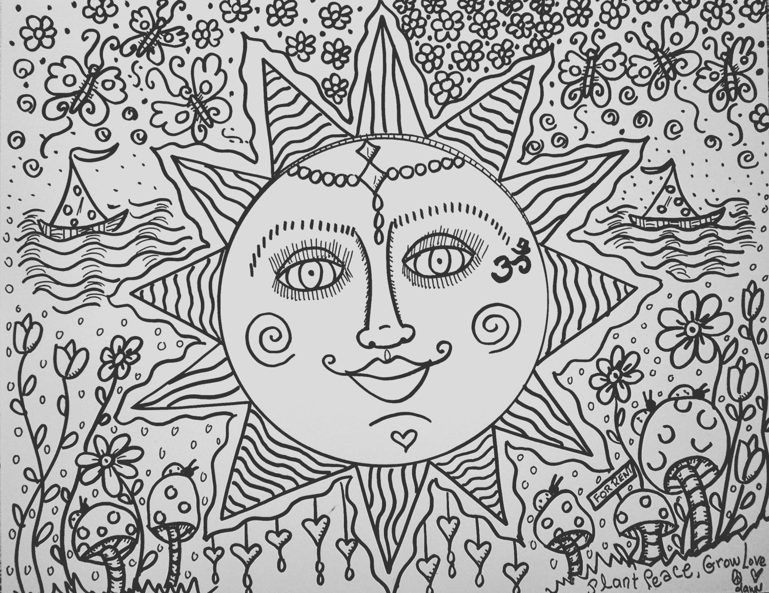 sweet summer days a color yourself
