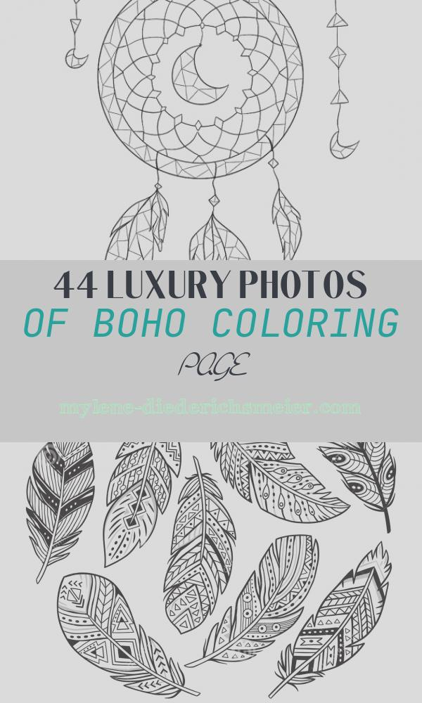 Boho Coloring Page Lovely Boho Coloring Pages at Getcolorings