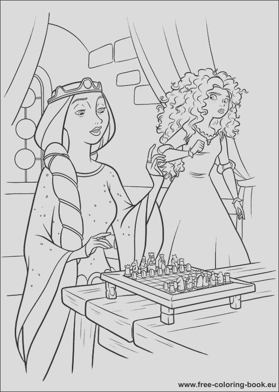 coloring pages brave 1