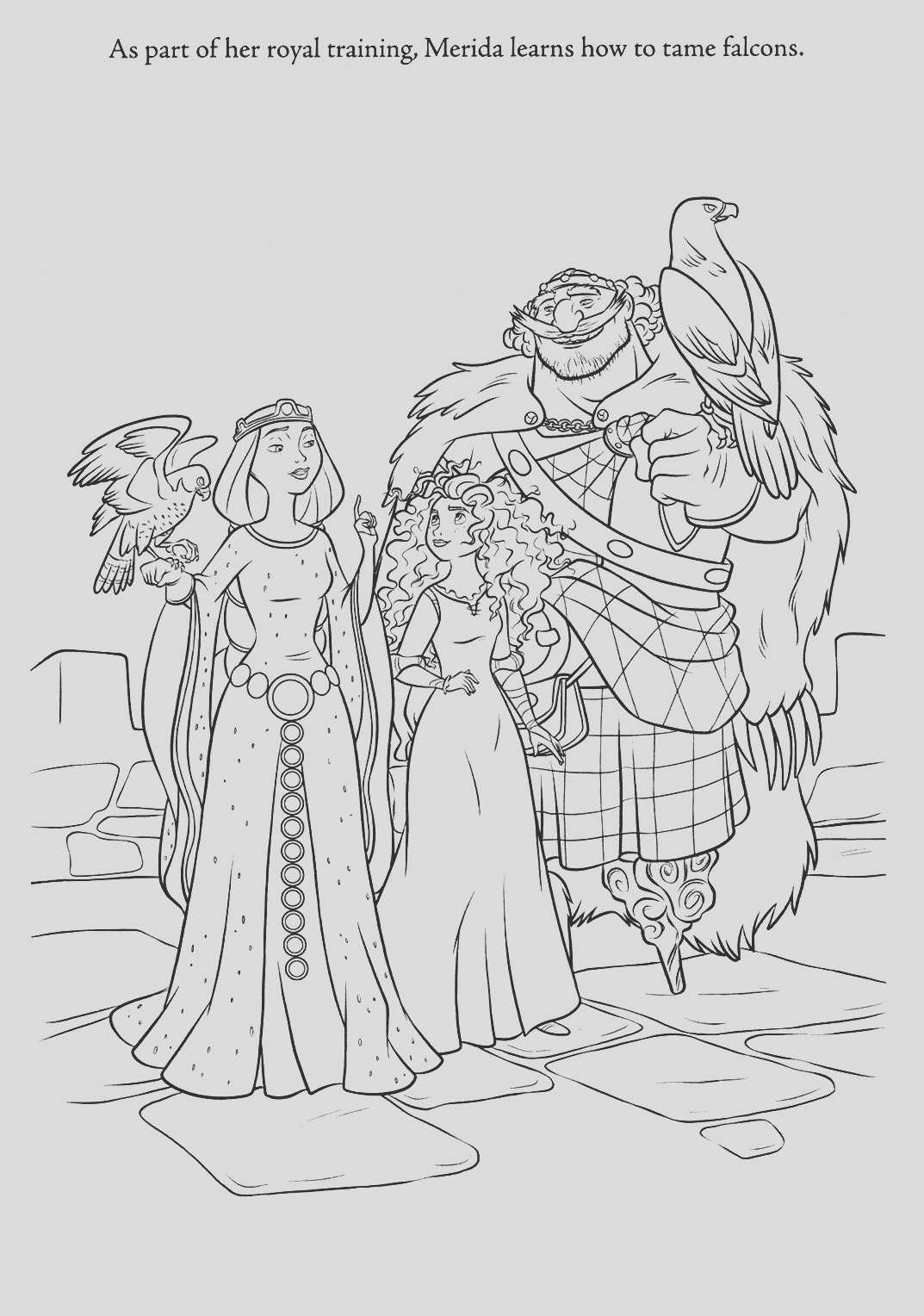 brave coloring pages