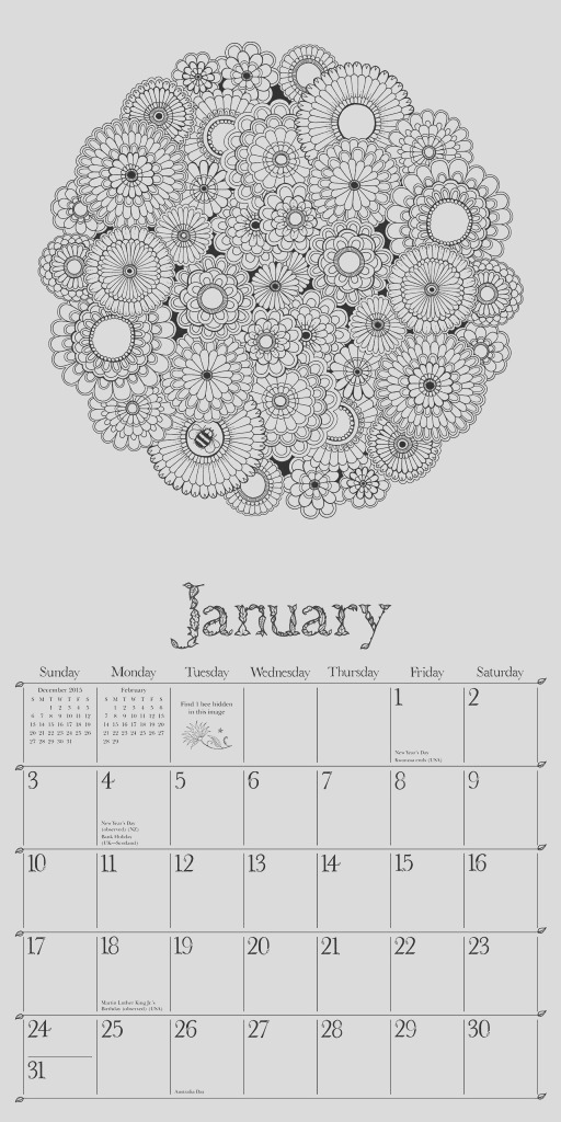 11 great 2016 calendars for coloring fans