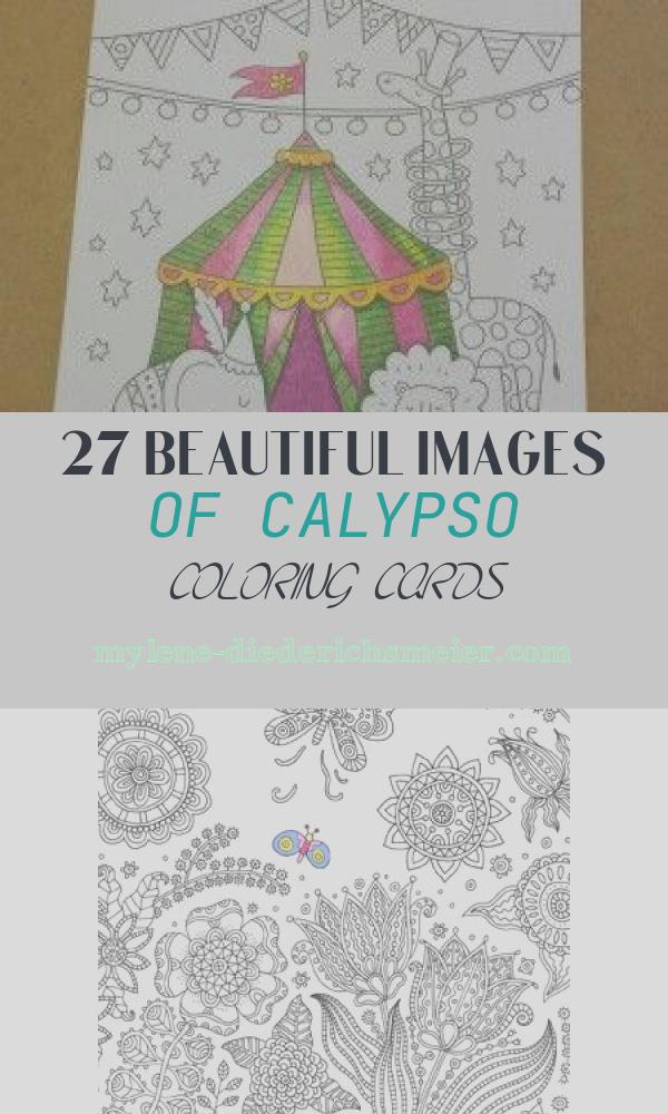 Calypso Coloring Cards Awesome 17 Best Images About Calypso Coloring Cards On Pinterest