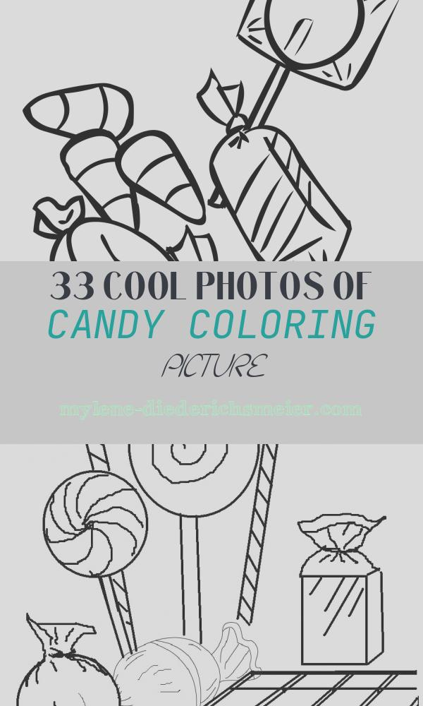 Candy Coloring Picture Lovely Free Printable Candy Coloring Pages for Kids