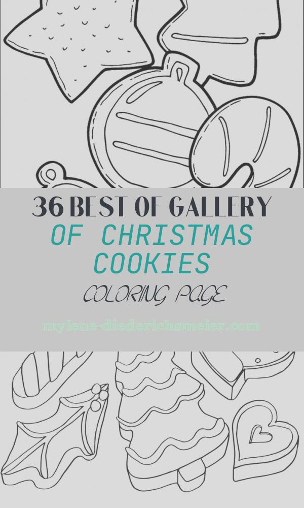 Christmas Cookies Coloring Page Lovely Cookie Coloring Pages Best Coloring Pages for Kids