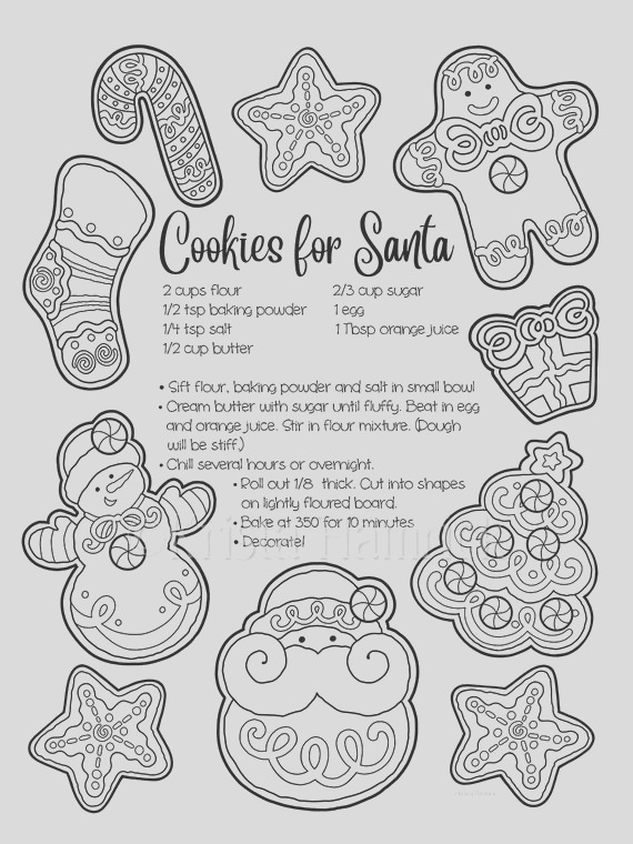 christmas cookies a letter for santa 2