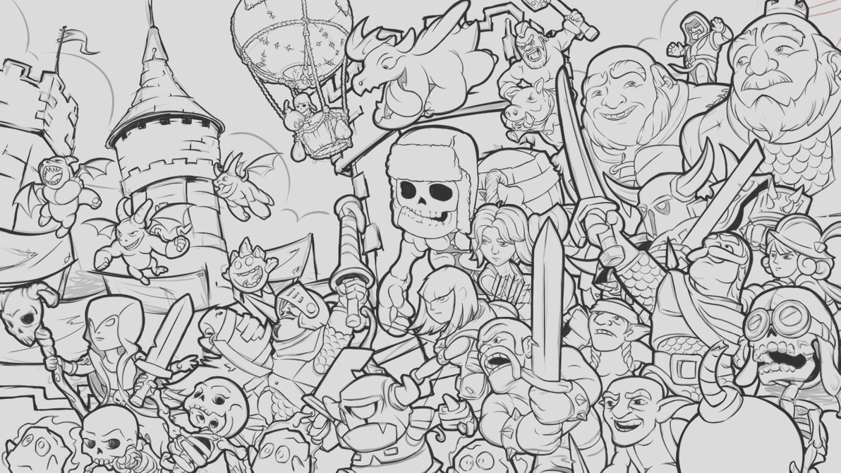 clash royale tribute WIP