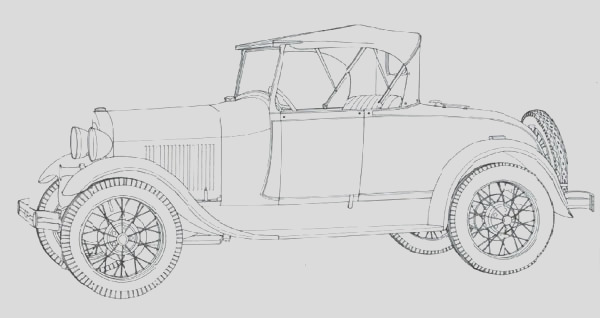 classic cars coloring pages for adults