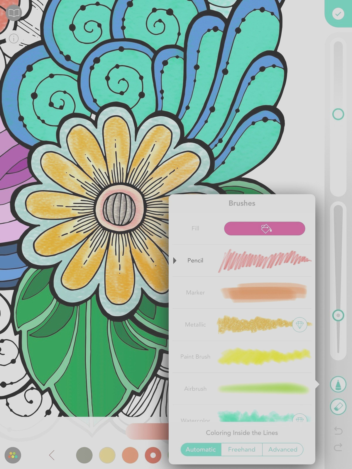 best coloring books adults ipad