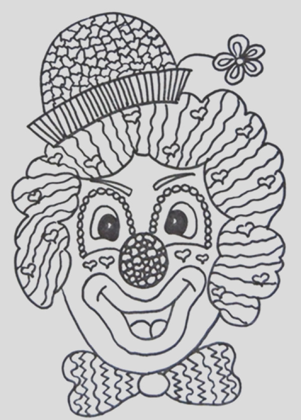 Making a Clown Party Invitation
