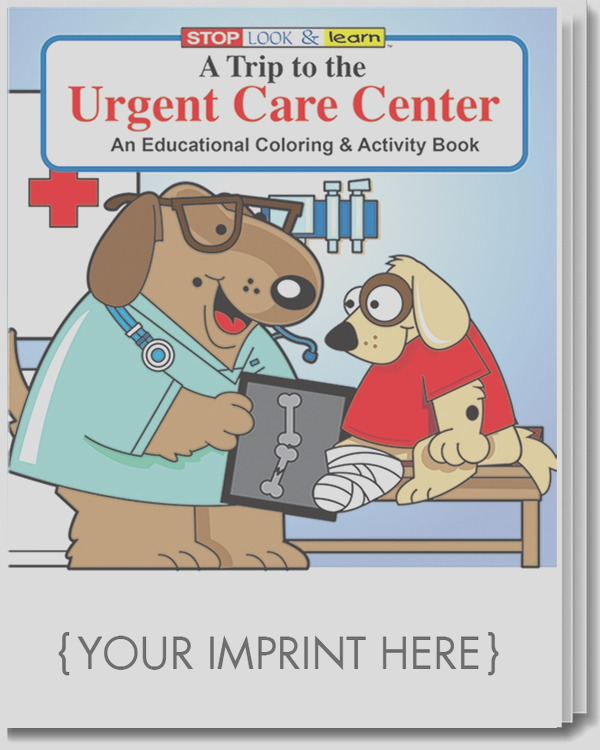 coloring book a trip to the urgent care center coloring activity book