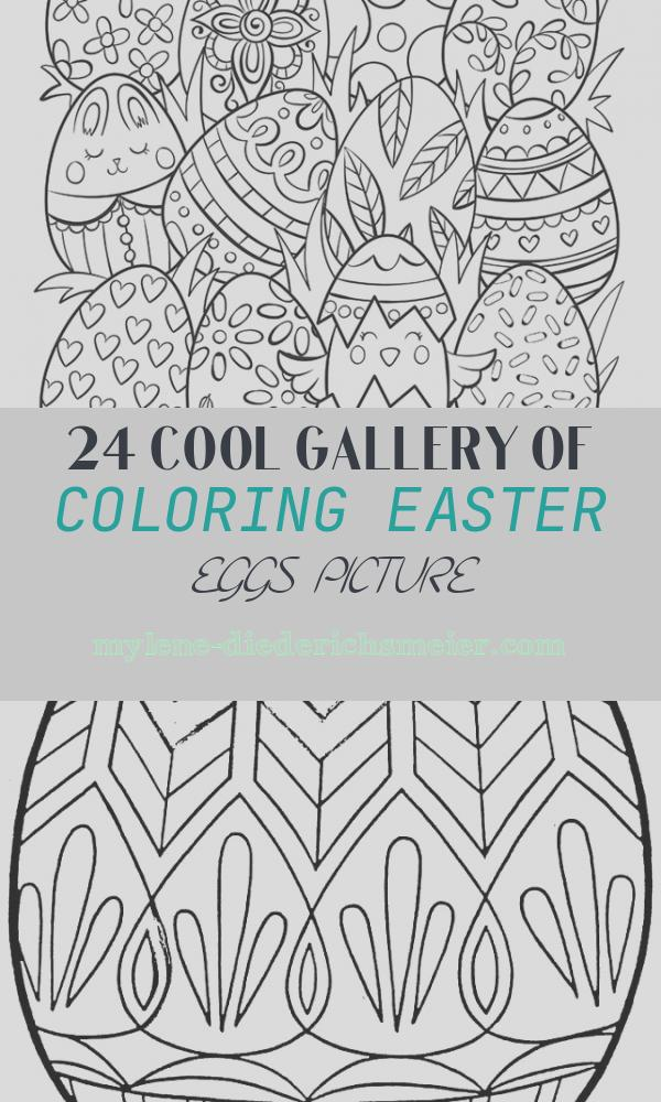 Coloring Easter Eggs Picture Fresh Easter Eggs Surprise Coloring Page
