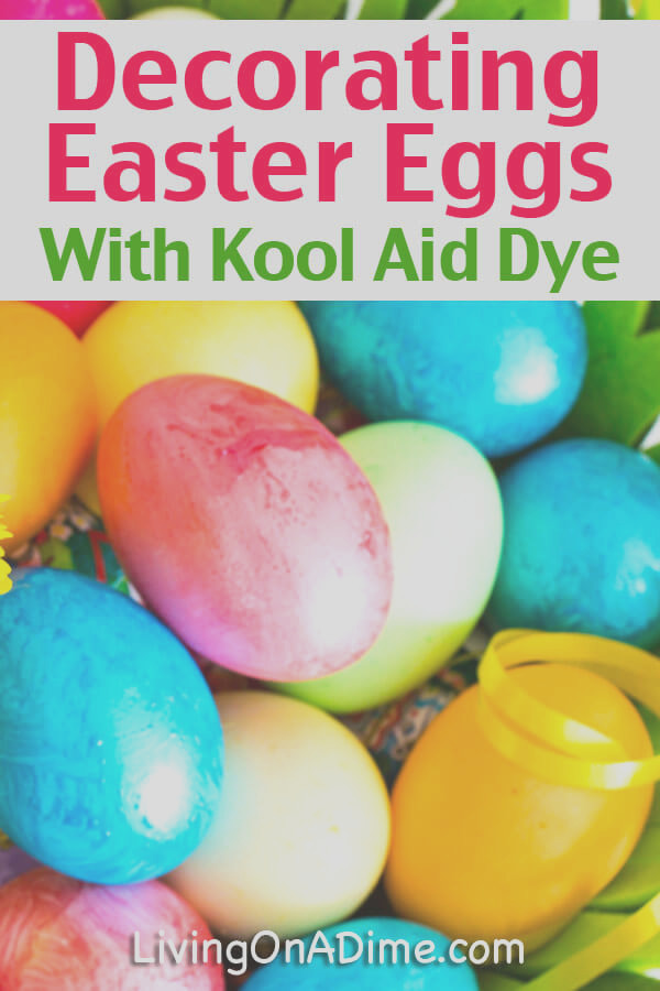 decorating easter eggs kool aid dyes