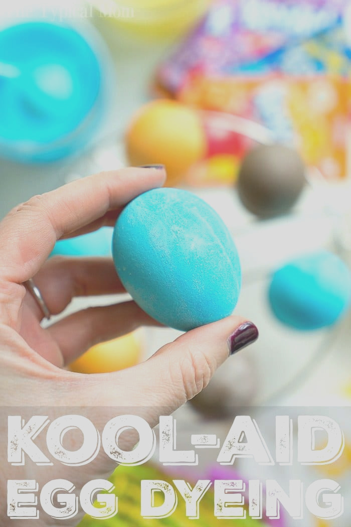 how to dye eggs with kool aid