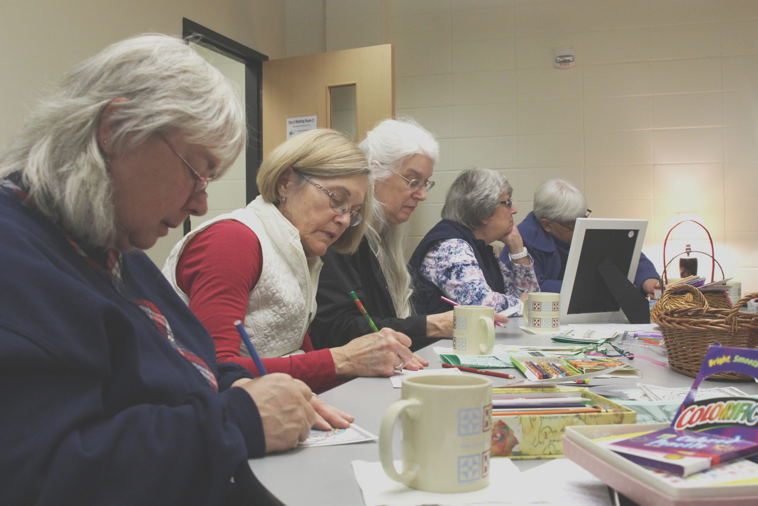 libraries meetup groups into adult coloring craze