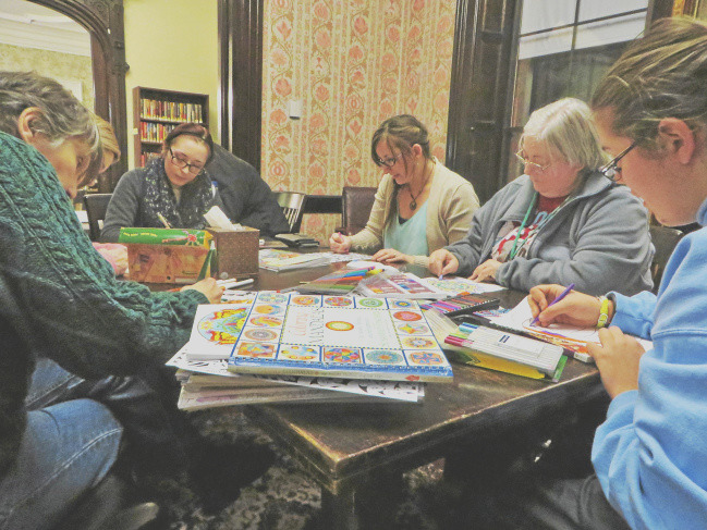 berkshire residents find peace fun with adult coloring books