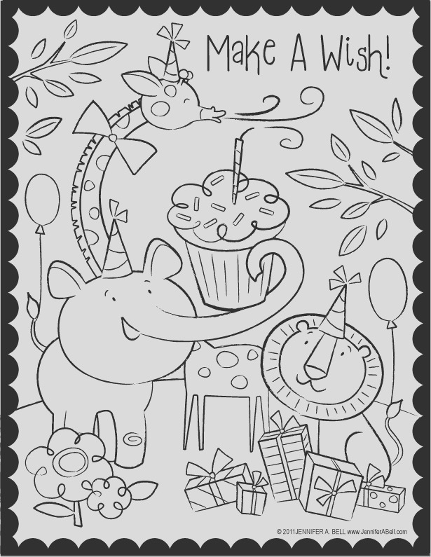 august free able coloring pages