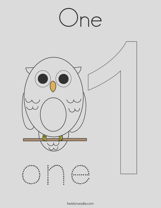one 55 coloring page