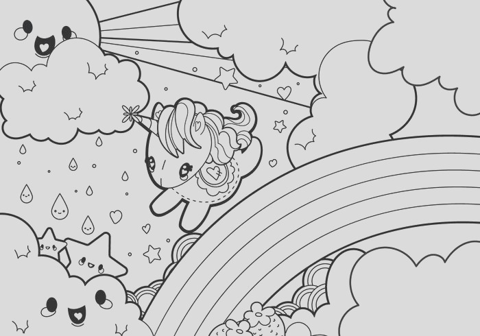 cute animal coloring pages