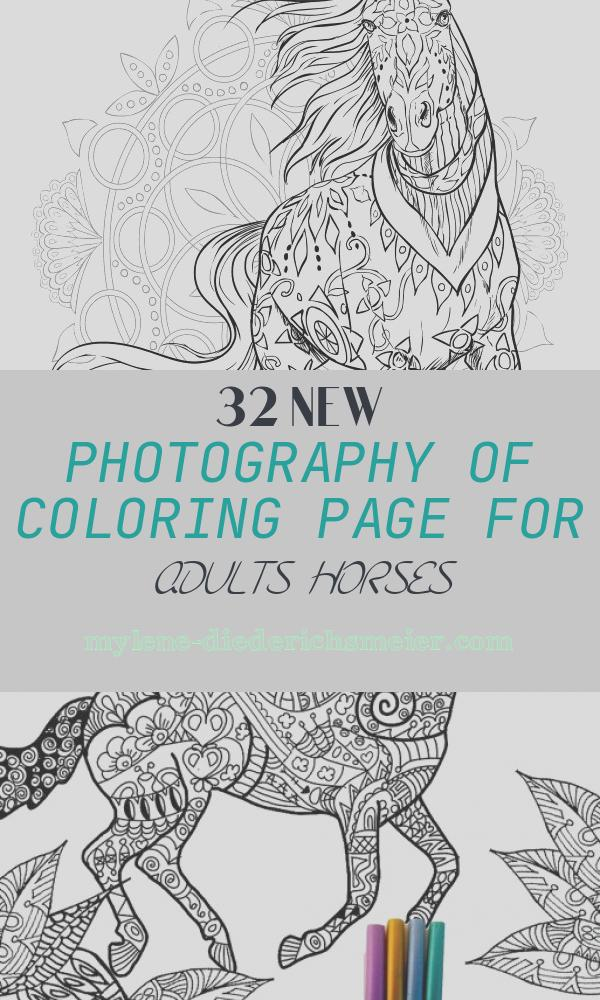 Coloring Page for Adults Horses Beautiful World Horses Adult Coloring