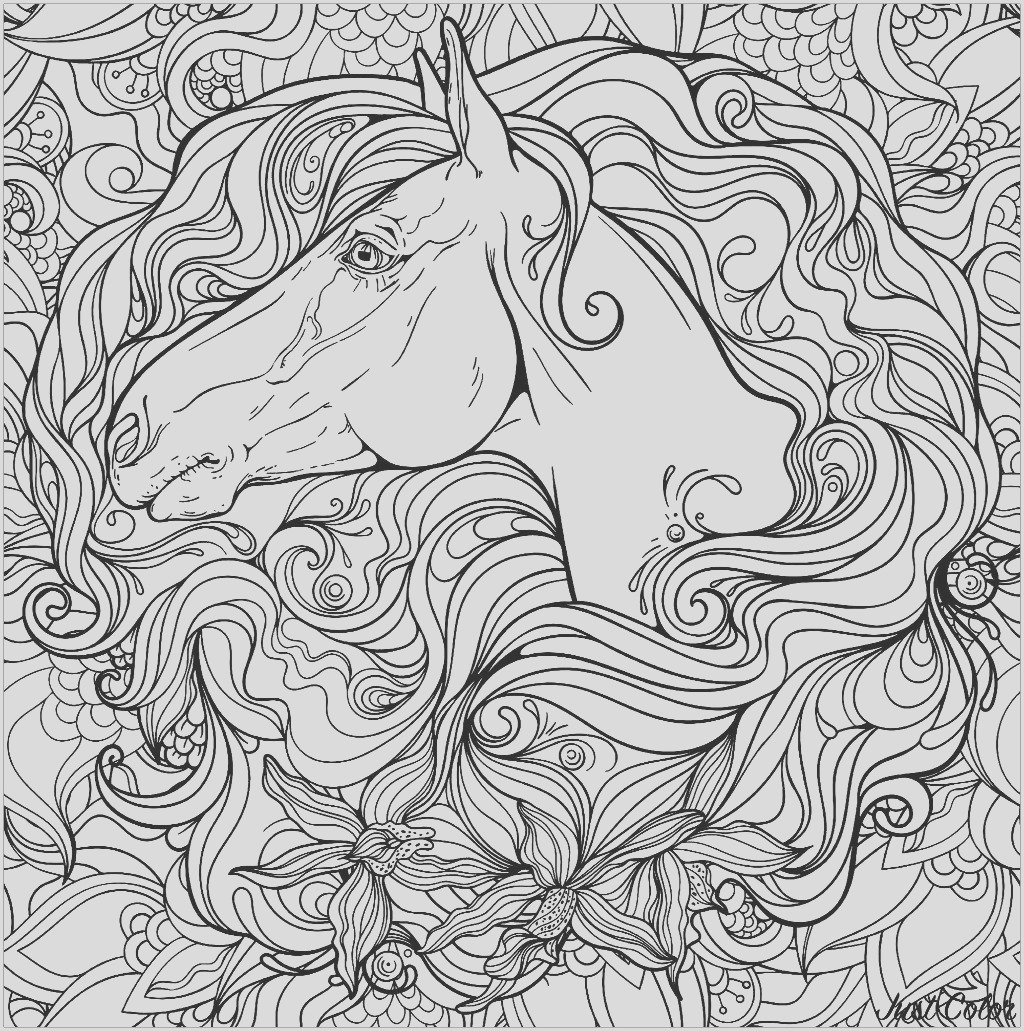 image=horses coloring horse in flowers 1