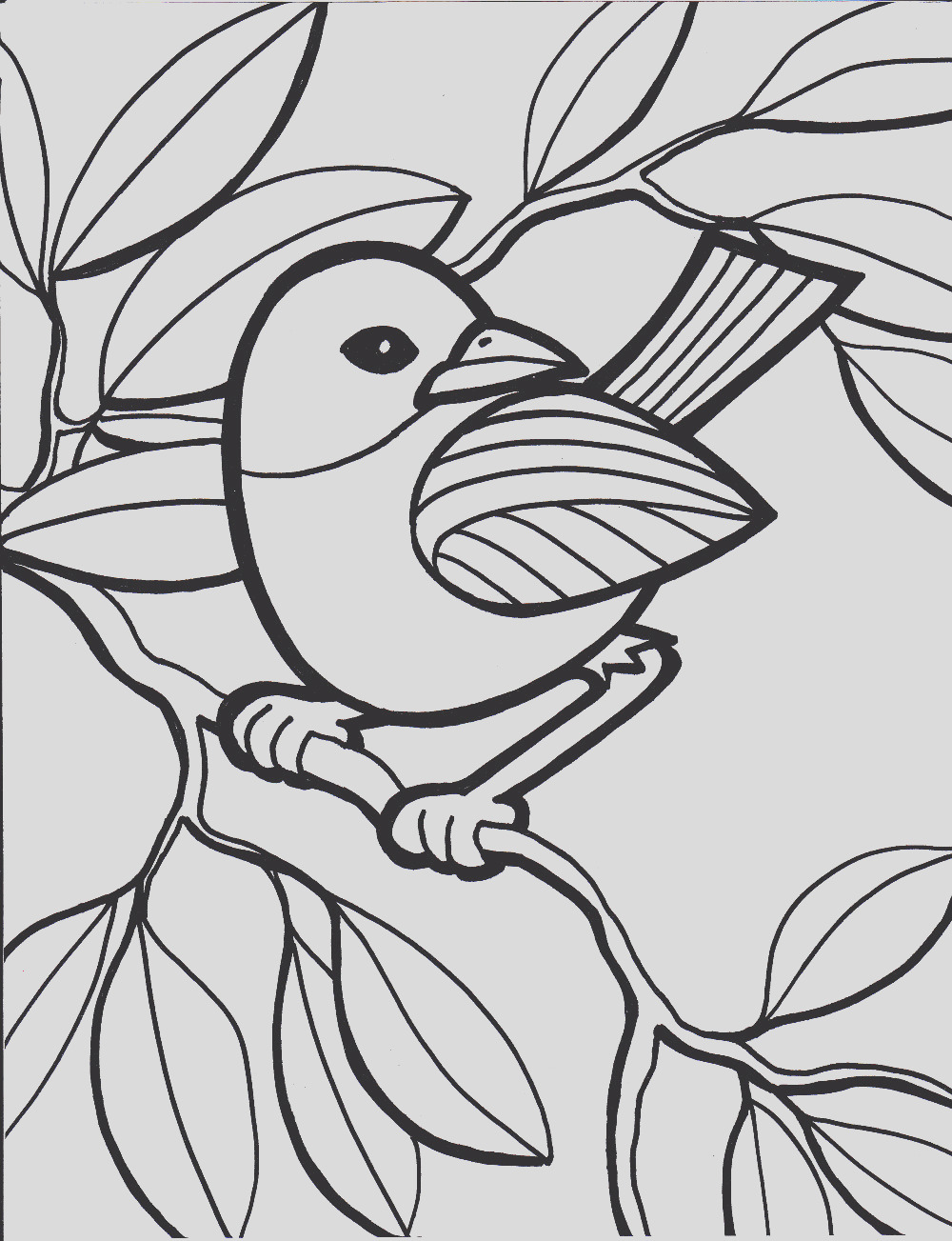 coloring pages for elderly adults