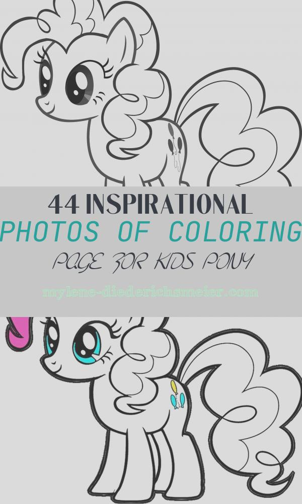 Coloring Page for Kids Pony Inspirational Mustangs