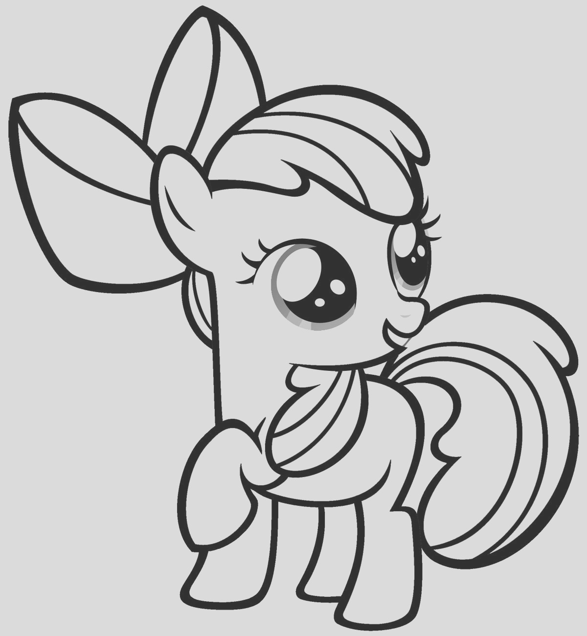 free printable my little pony coloring pages for kids 2