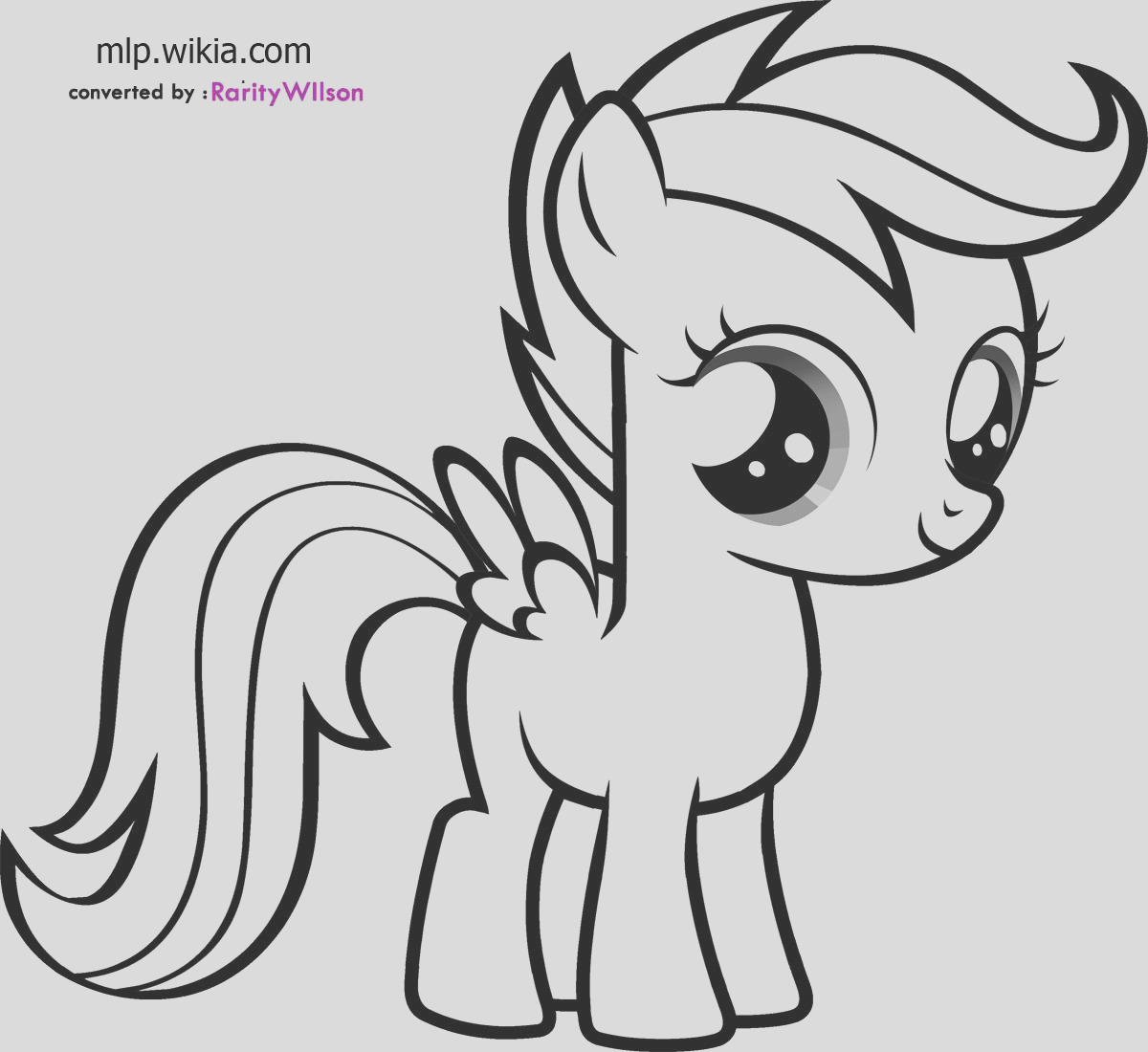 scootaloo coloring pages coloring99