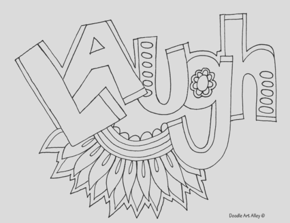 printable teen coloring pages online