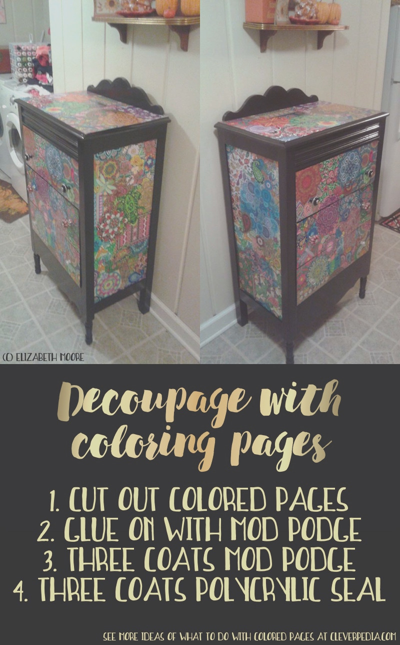 diy ways to use coloring pages