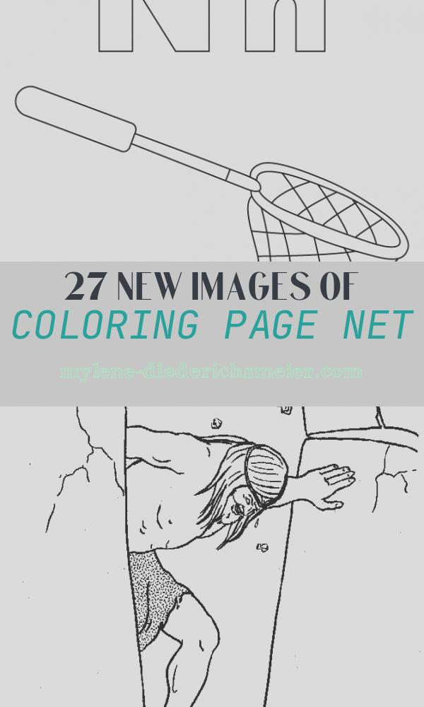Coloring Page Net Elegant N for Net Coloring Page with Handwriting Practice