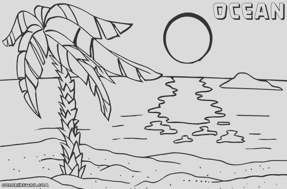 ocean coloring pages free 8db4m
