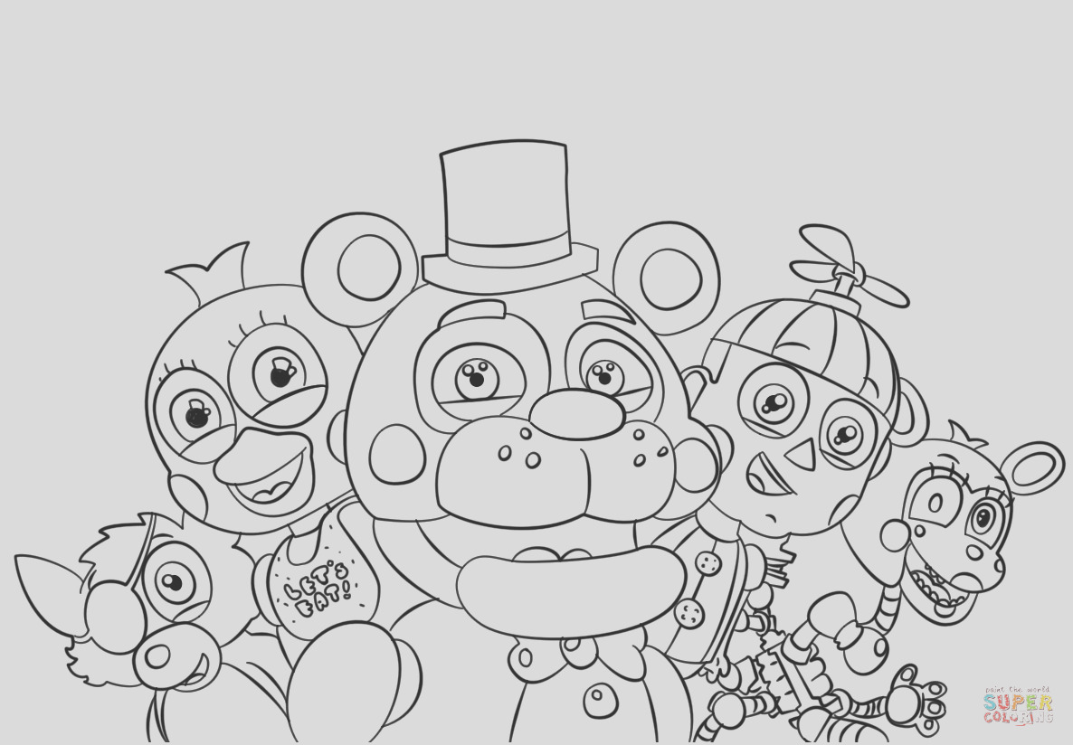 five nights at freddys all characters