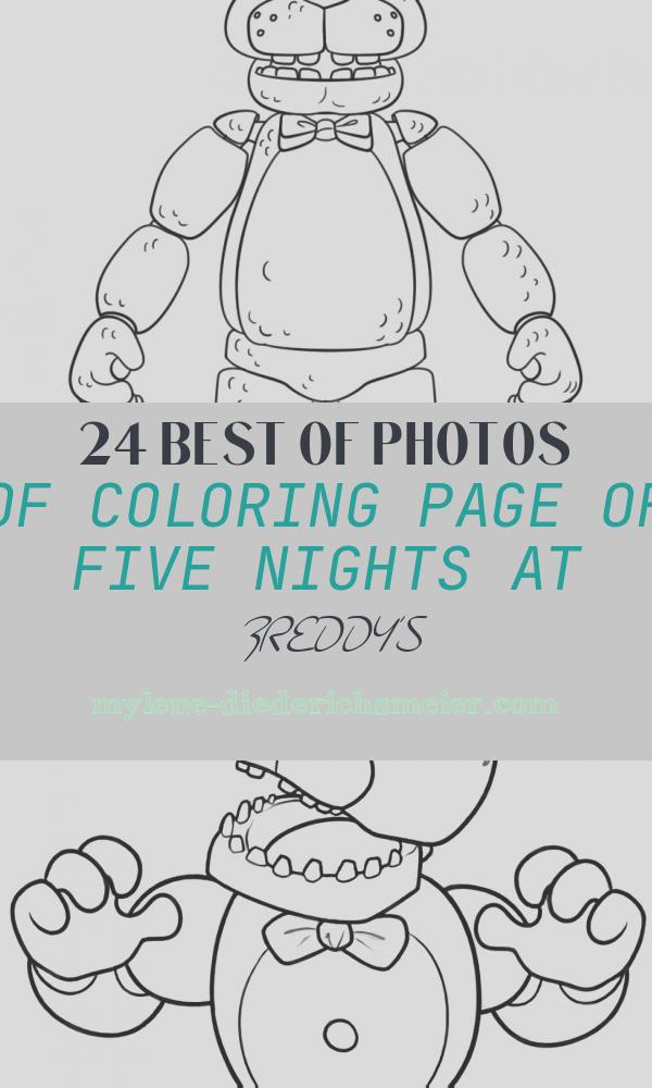 Coloring Page Of Five Nights at Freddy's Luxury Free Printable Five Nights at Freddy S Fnaf Coloring Pages