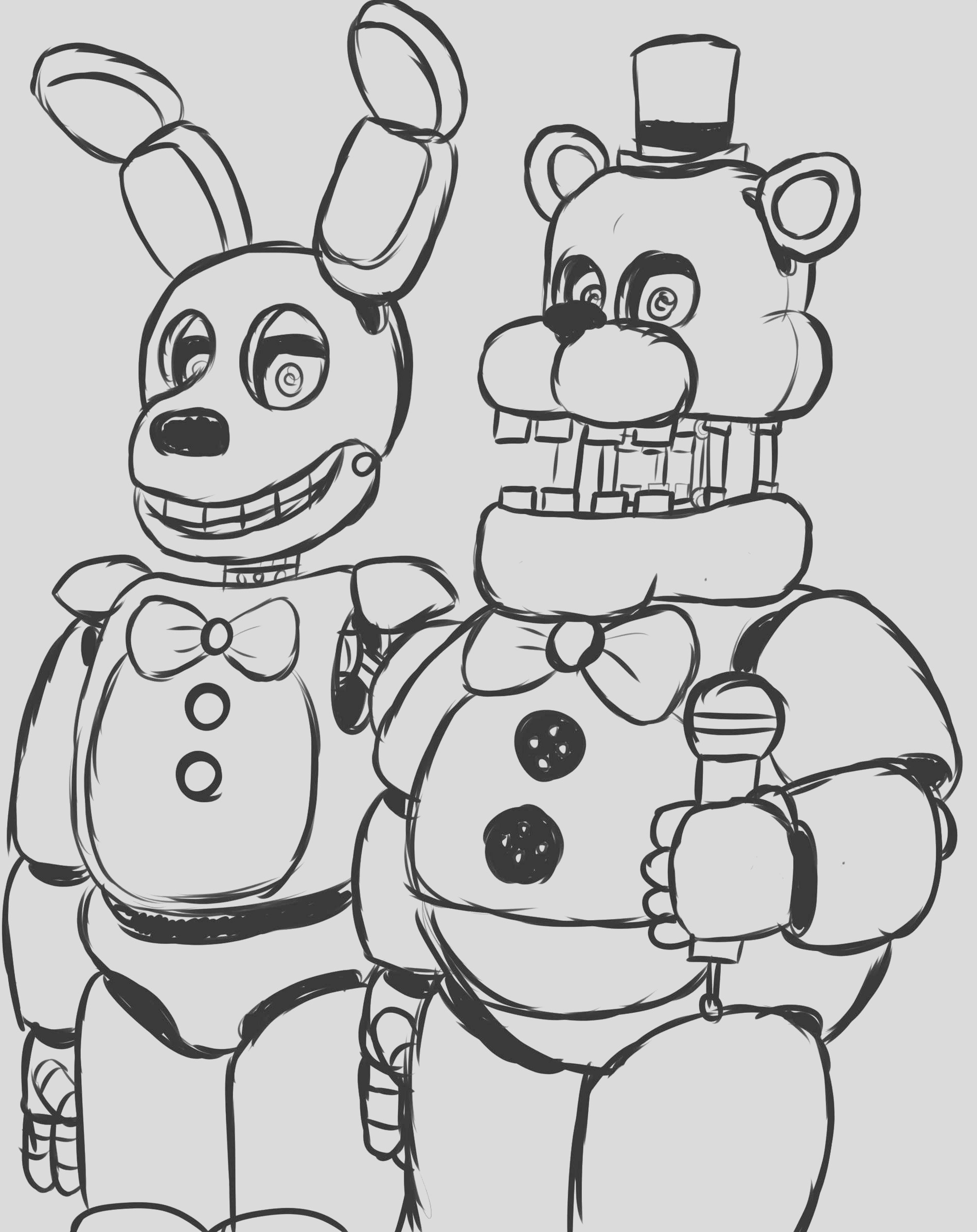 noted five nights at freddy s coloring pages foxy appealing fnaf of printable mangle and