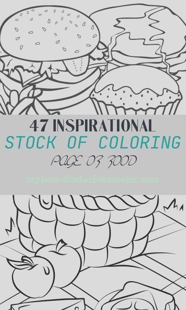 Coloring Page Of Food Luxury Free Printable Food Coloring Pages for Kids