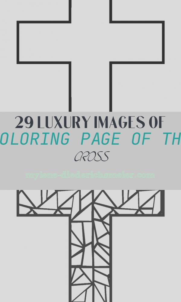 Coloring Page Of the Cross Elegant Free Printable Cross Coloring Pages for Kids