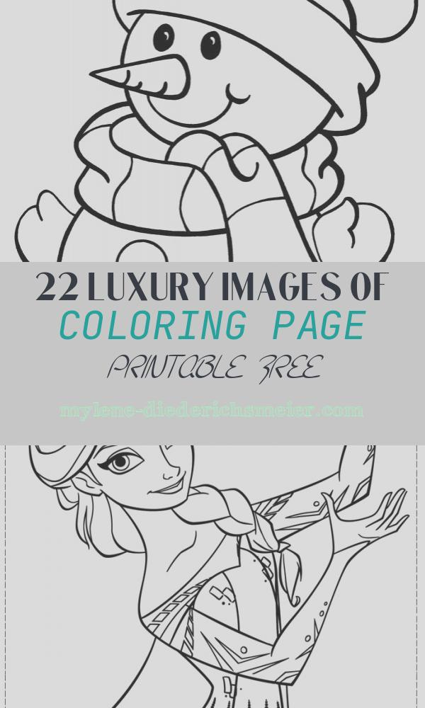 Coloring Page Printable Free Awesome 5 Free Christmas Printable Coloring Pages – Snowman Tree