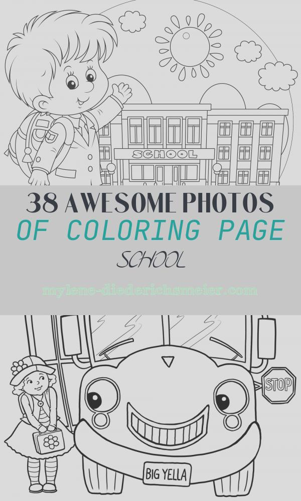 Coloring Page School Luxury Back to School Coloring Pages Sarah Titus