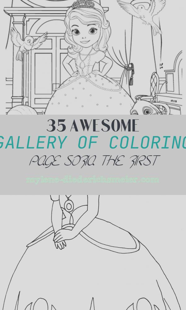 Coloring Page sofia the First Lovely sofia the First Coloring Pages