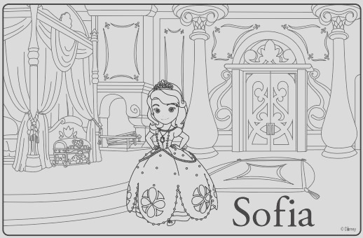 sofia the first premiere party ideas coloring sheets