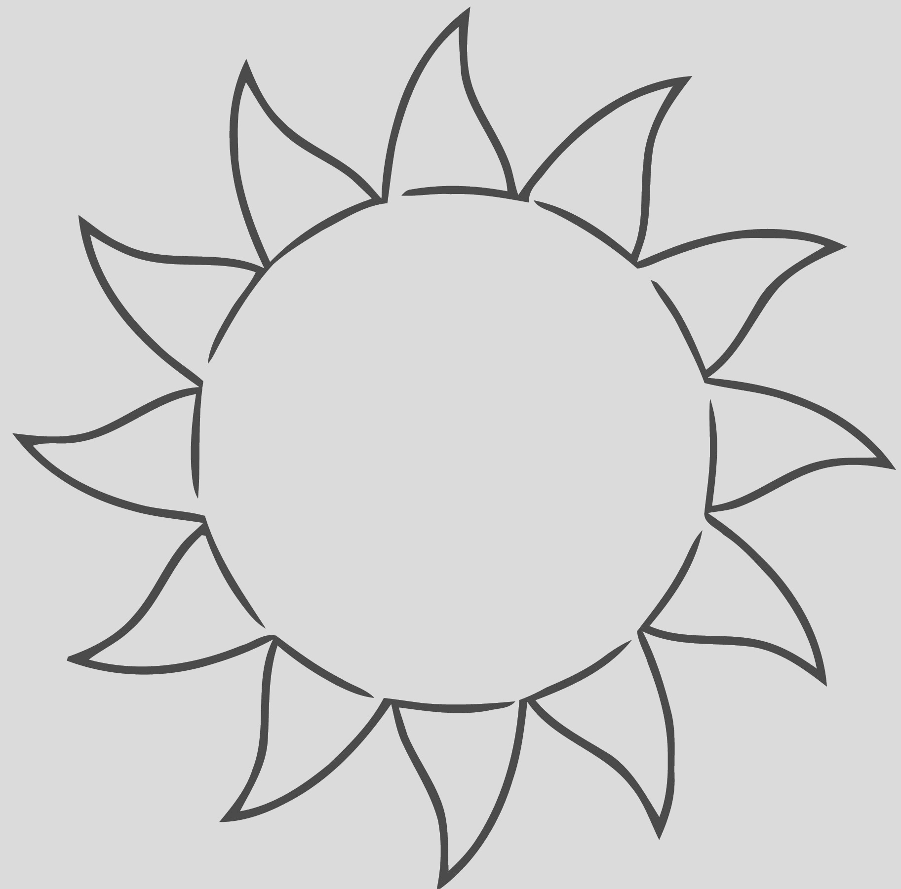 all free free sun clip a free printable rt cartoonized free printable coloring page