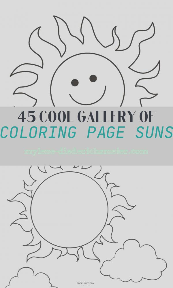 Coloring Page Suns Unique Free Printable Sun Coloring Pages for Kids