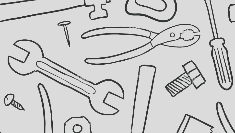 kitchen tools coloring pages