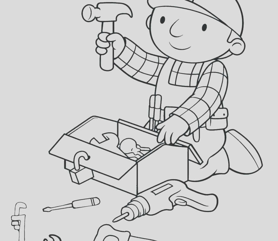 science tools coloring pages